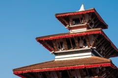 Τετραγωνικός ναός του Κατμαντού Durbar Στοκ Φωτογραφίες