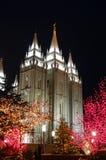 τετραγωνικός ναός Χριστουγέννων 6 στοκ εικόνα