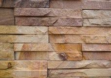 τετραγωνικός τοίχος πετρών στοκ φωτογραφίες