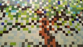 Τετραγωνικός τοίχος στοκ φωτογραφία με δικαίωμα ελεύθερης χρήσης