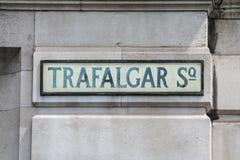 τετραγωνικός trafalgar του Λον&de Στοκ εικόνες με δικαίωμα ελεύθερης χρήσης