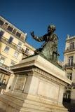 Τετραγωνικό άγαλμα Cuiado Στοκ Εικόνες