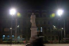 Τετραγωνικό άγαλμα Universitate Στοκ Φωτογραφίες