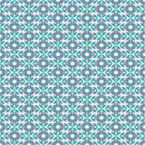 Τετραγωνικό άνευ ραφής σχέδιο ροζέτων Στοκ φωτογραφία με δικαίωμα ελεύθερης χρήσης