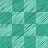 Τετραγωνικό, άνευ ραφής υπόβαθρο κεραμιδιών, πράσινη σμάραγδος, διάνυσμα Στοκ Φωτογραφίες