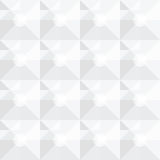 Τετραγωνικό άσπρο γεωμετρικό αφηρημένο σχέδιο Στοκ εικόνα με δικαίωμα ελεύθερης χρήσης