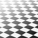 Τετραγωνικό αφηρημένο υπόβαθρο σκακιού ελεγκτών Στοκ Εικόνα
