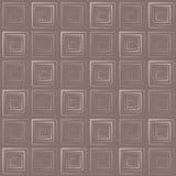 Τετραγωνικό γεωμετρικό σχέδιο κιβωτίων Στοκ Εικόνα