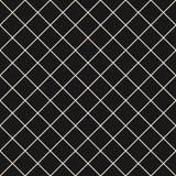 Τετραγωνικό διανυσματικό άνευ ραφής σχέδιο πλέγματος Λεπτός σκοτεινός ελεγμένος επαναλαμβάνει το υπόβαθρο, απλό σχέδιο απεικόνιση αποθεμάτων