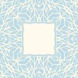 Τετραγωνικό διακοσμητικό αφηρημένο υπόβαθρο μωσαϊκών Στοκ εικόνα με δικαίωμα ελεύθερης χρήσης