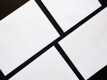 Τετραγωνικό ιπτάμενο Στοκ Εικόνες
