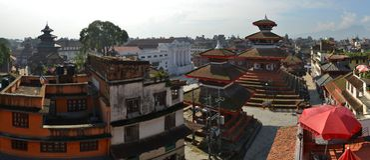 Τετραγωνικό, κύριο plaza Durbar του Κατμαντού, Νεπάλ Στοκ Εικόνα