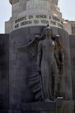 Τετραγωνικό μνημείο της Ισπανίας στοκ εικόνα με δικαίωμα ελεύθερης χρήσης