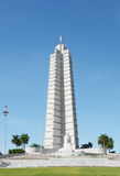 Τετραγωνικό μνημείο του Jose Marti επαναστάσεων Στοκ Φωτογραφίες