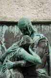 Τετραγωνικό μνημείο Preseren Στοκ Φωτογραφία
