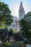 Τετραγωνικό πάρκο του Μάντισον, NYC Στοκ εικόνες με δικαίωμα ελεύθερης χρήσης