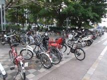 Τετραγωνικό ποδήλατο πάρκων Στοκ εικόνες με δικαίωμα ελεύθερης χρήσης