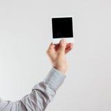 Τετραγωνικό πλαίσιο φωτογραφιών Στοκ εικόνες με δικαίωμα ελεύθερης χρήσης
