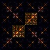 Τετραγωνικό σχέδιο πολύτιμων λίθων Στοκ εικόνα με δικαίωμα ελεύθερης χρήσης