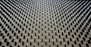 Τετραγωνικό σχέδιο σε έναν τοίχο Στοκ φωτογραφία με δικαίωμα ελεύθερης χρήσης