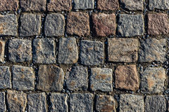 Τετραγωνικό σχέδιο σύστασης πετρών Στοκ φωτογραφία με δικαίωμα ελεύθερης χρήσης