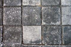 Τετραγωνικό τούβλο τοπ άποψης στο πεζοδρόμιο Στοκ φωτογραφία με δικαίωμα ελεύθερης χρήσης