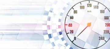 Τετραγωνικό υπόβαθρο αγώνα, διανυσματική αφαίρεση απεικόνισης στο rac Στοκ Εικόνα
