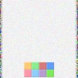 Τετραγωνικό υπόβαθρο χρώματος εικονοκυττάρου διανυσματική απεικόνιση