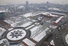 Τετραγωνικό χιόνι Shouyi Στοκ Φωτογραφίες