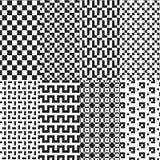 Τετραγωνικό ύφος σχεδίων Στοκ εικόνες με δικαίωμα ελεύθερης χρήσης