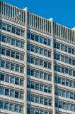 τετραγωνικό architeture παραθύρων Στοκ Εικόνα