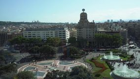 Τετραγωνικό Catalunia, Ισπανία φιλμ μικρού μήκους