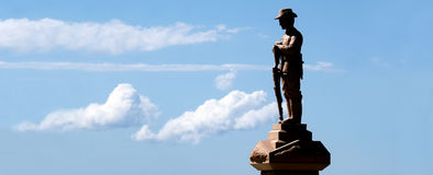 Τετραγωνικό Gold Coast Queensland Αυστραλία ANZAC Στοκ Φωτογραφία