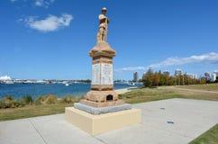 Τετραγωνικό Gold Coast Queensland Αυστραλία ANZAC Στοκ εικόνες με δικαίωμα ελεύθερης χρήσης