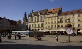 τετραγωνικό wroclaw αγοράς Στοκ Φωτογραφία