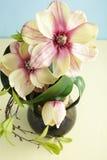 τεχνητά διακοσμητικά λουλούδια Στοκ Εικόνες