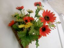 Τεχνητά λουλούδια Στοκ Φωτογραφία