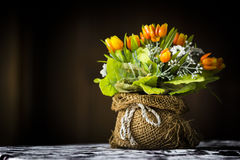 Τεχνητά λουλούδια. Στοκ Εικόνες