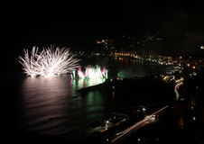 Τεχνητά πυροτεχνήματα Στοκ φωτογραφία με δικαίωμα ελεύθερης χρήσης