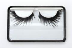 Τεχνητά eyelashes Στοκ εικόνα με δικαίωμα ελεύθερης χρήσης