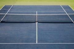 Τεχνητή άποψη γηπέδων αντισφαίρισης τύρφης στοκ εικόνες