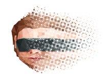 Τεχνητή έννοια αποσύνθεσης μυαλού Στοκ Εικόνα