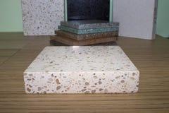 Τεχνητή ακρυλική πέτρα Στοκ φωτογραφία με δικαίωμα ελεύθερης χρήσης