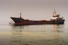 Τεχνητή κατασκευή ακτών Στοκ φωτογραφία με δικαίωμα ελεύθερης χρήσης