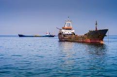 Τεχνητή κατασκευή ακτών Στοκ εικόνα με δικαίωμα ελεύθερης χρήσης