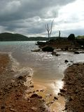 τεχνητή λίμνη Στοκ φωτογραφίες με δικαίωμα ελεύθερης χρήσης