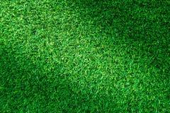 Τεχνητή πράσινη σύσταση χλόης ή πράσινο υπόβαθρο χλόης για το σχέδιο Στοκ εικόνα με δικαίωμα ελεύθερης χρήσης
