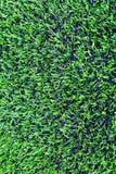 Τεχνητή χλόη του ποδοσφαίρου & x28 soccer& x29  τομέας Στοκ Εικόνες