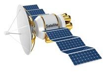 τεχνητός γήινος δορυφόρο& διανυσματική απεικόνιση