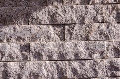 τεχνητός μπλε ελαφρύς τοίχος πετρών Στοκ εικόνα με δικαίωμα ελεύθερης χρήσης